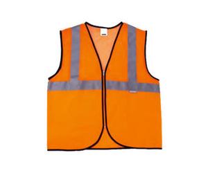 Chaleco de alta visibilidad color naranja