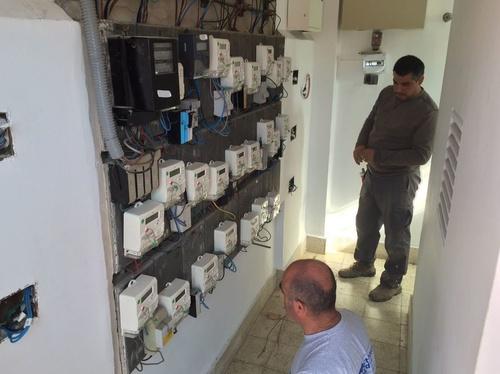 Cuarto contadores instalación eléctrico