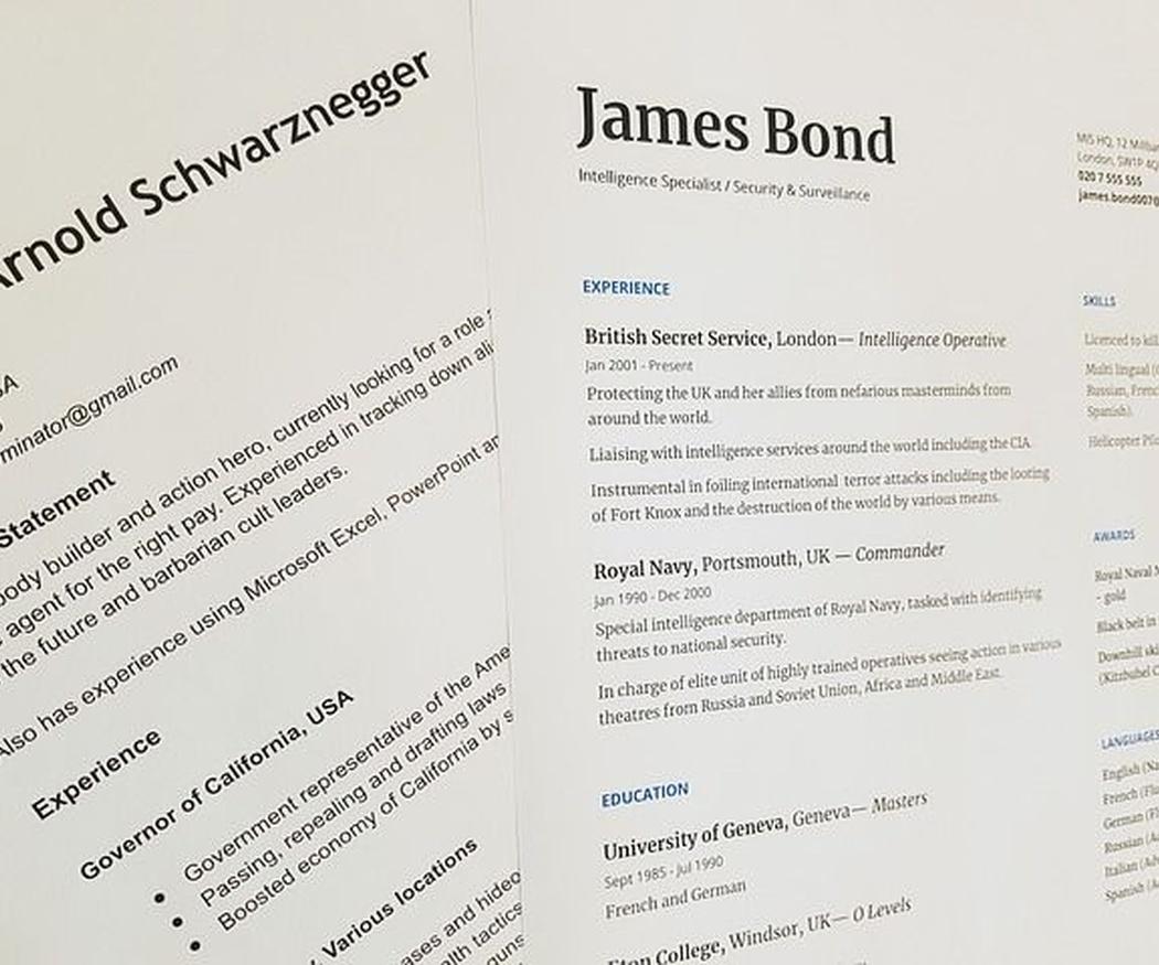 ¿Qué tipografía has de utilizar en trabajos académicos o en el CV?