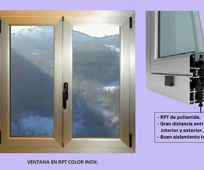 Poner ventanas en RPT.