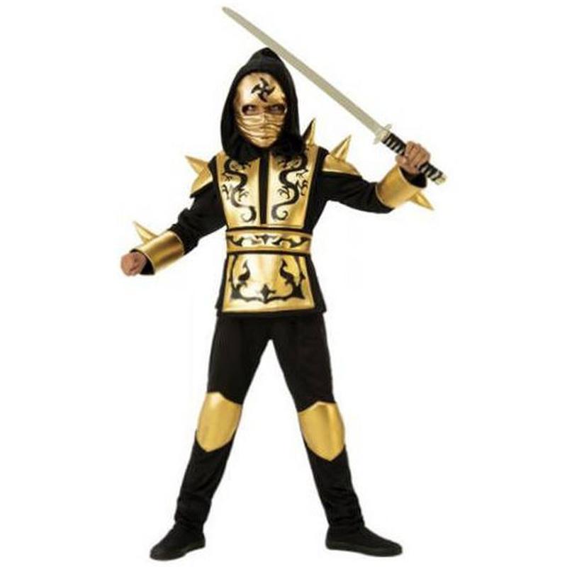 Disfraz dragon ninja gold infantil