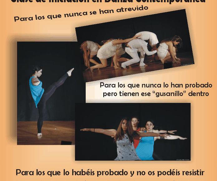 Gran éxito de nuestra clases de Danza Contemporánea
