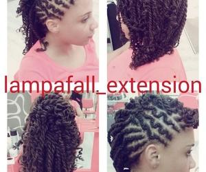 Distinto tipo de peinado con extensiones