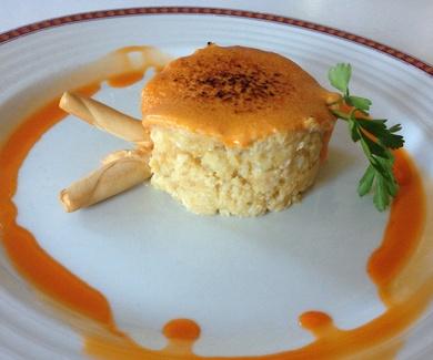 Restaurante La Corrobla y su Timbal de Bacalao en España Directo