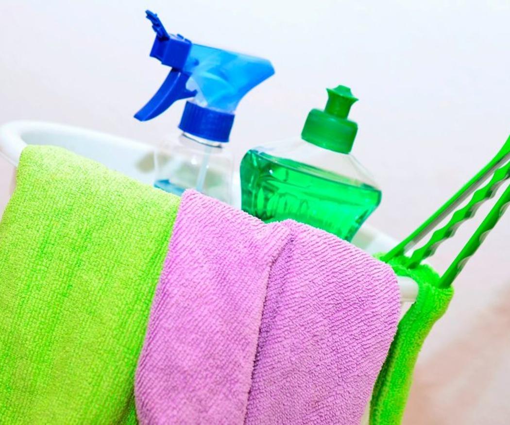Cómo usar correctamente los productos de limpieza