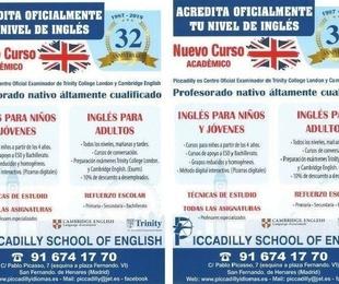 NUEVO CURSO ACADÉMICO -  INGLES PARA NIÑOS,JÓVENES Y ADULTOS.