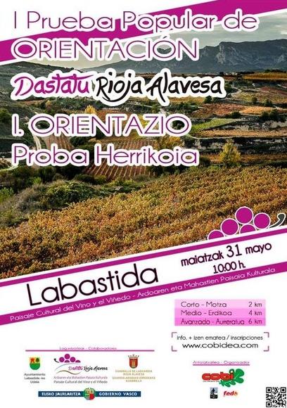 Abiertas las inscripciones para la popular de Labastida - ORIENTACIÓN COBI