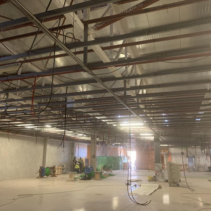 Refuerzos para techos de escayola: Nuestros servicios de Cerrajería Inox Las Salinas