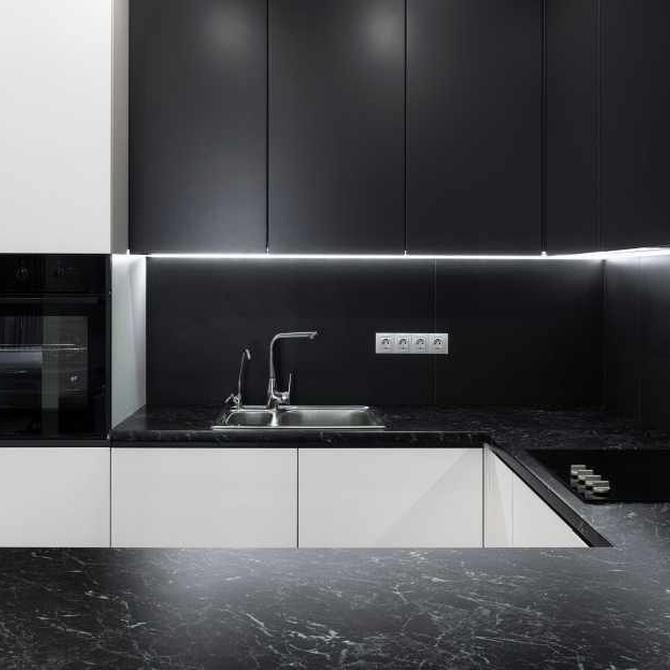 Los muebles de cocina laminados