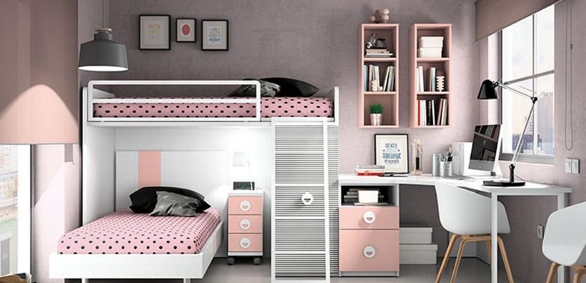 Dormitorios juveniles en Jaén: Pepe Gálvez Mobiliario y Decoración