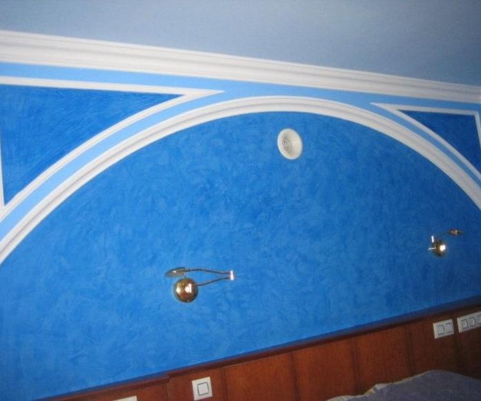 Pintura y revestimientos: Servicios de Almeida Instalaciones y Obras