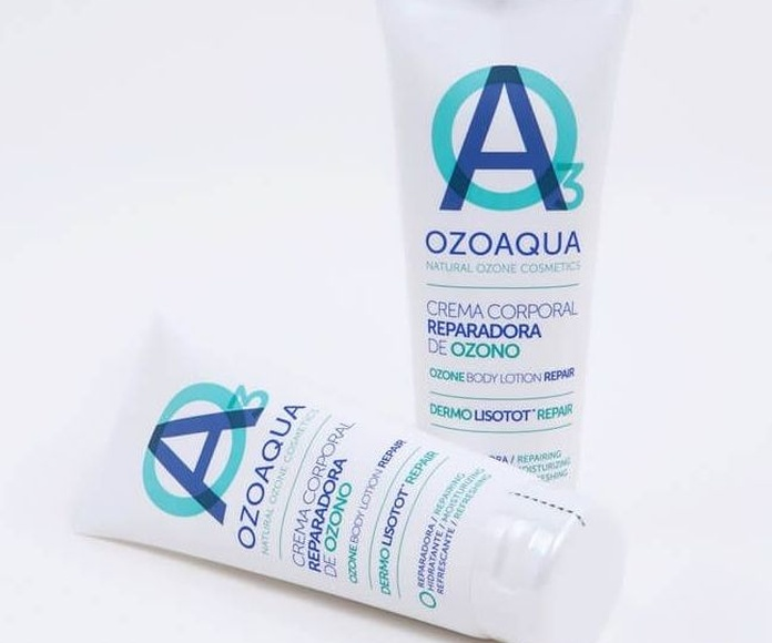 crema corporal reparadora de Ozono Ozoaqua