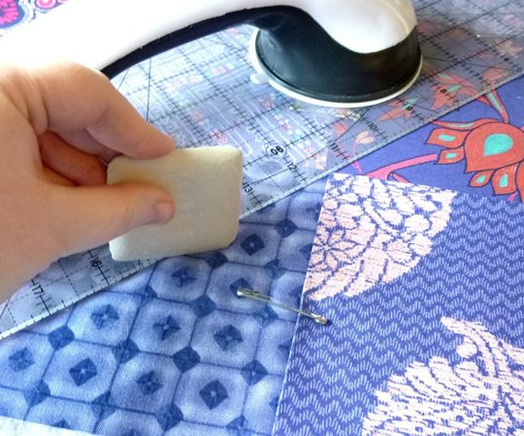 ¿Qué telas escojo para hacer patchwork?