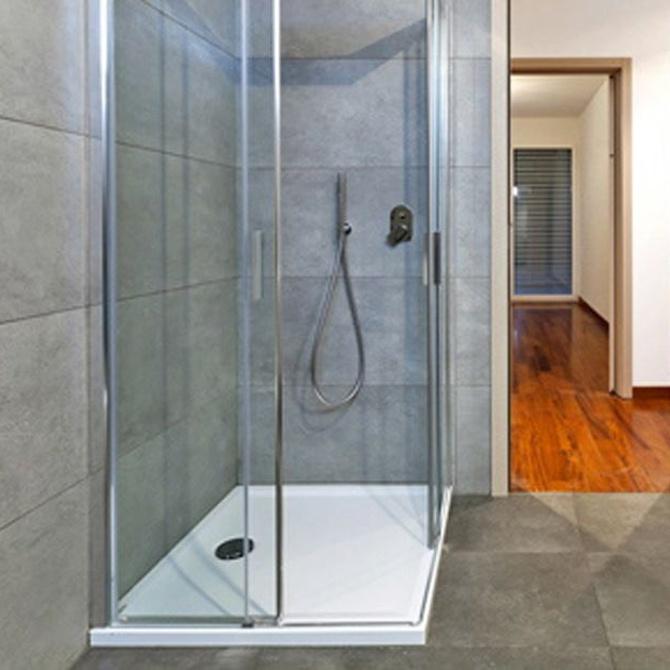 Tipos de mamparas de ducha