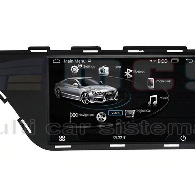 RADIO GPS PANTALLA TACTIL ANDROID AUDI A4 8K A5 8T