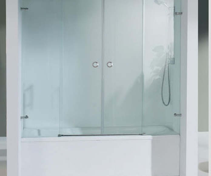Mamparas de baño y ducha: Productos y servicios de Aluminios Tello