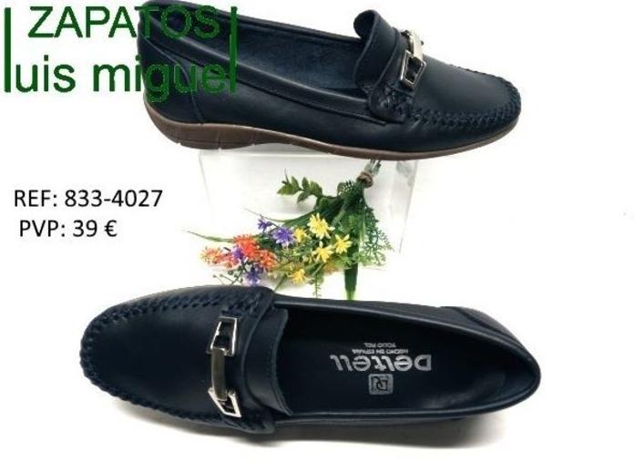 mocasin con adorno estribo de deltell: Catalogo de productos de Zapatos Luis Miguel