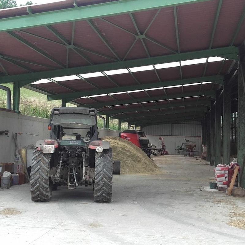 Restauración y construcción de naves de ganadería: Servicios de Construcciones Elizaga Mugika