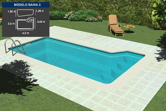 PISCINA BAHÍA 3 (4.20 X 2.50 mtrs.): Productos y Servicios de Tecno Clima