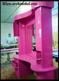 Fabricación del mueble en fabrica