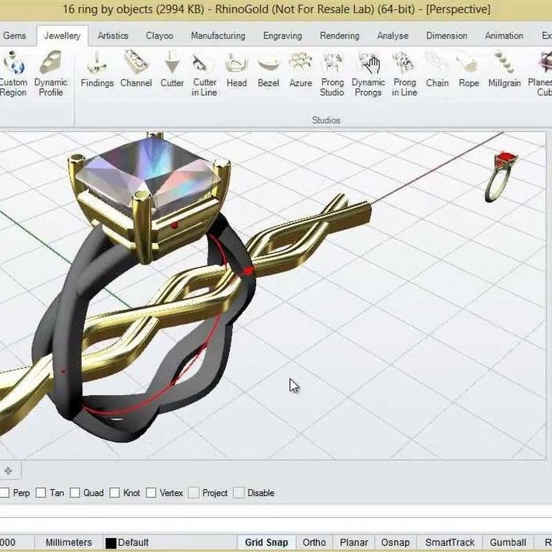 Curso de joyería en 3D