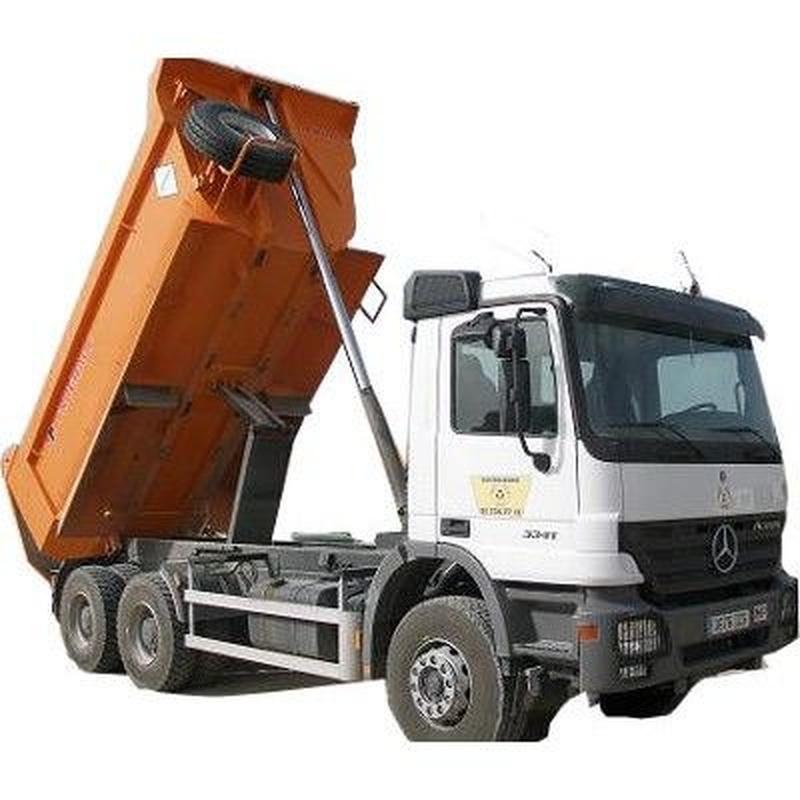 Alquiler de camiones: Servicios de Movimientos de Tierra Ercon