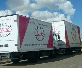 Mudanzas : Servicios  de Mudanzas Nieto