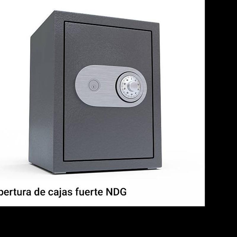 Apertura de cajas fuertes Palma de Mallorca.  NDG