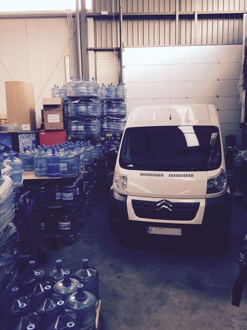 Abastecimiento de máquinas de agua