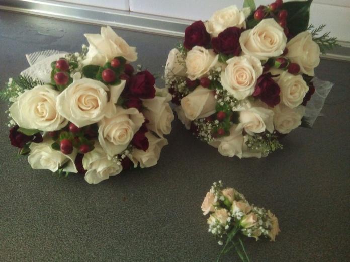 Ramo de novia y replica