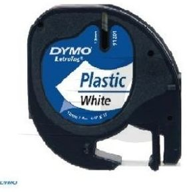 DYMO 91201 (S0721610) cinta de plástico 12 mm. X 4 m