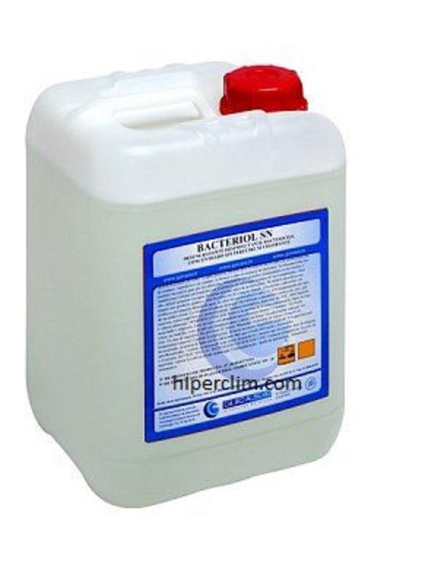 Detergente higienizante sin perfume ni colorantes con efecto antibacterias para Indutria alimentaria.