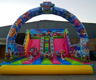 Castillo Hinchable HAPPY7: Catálogo de Hinchables Happy Jump