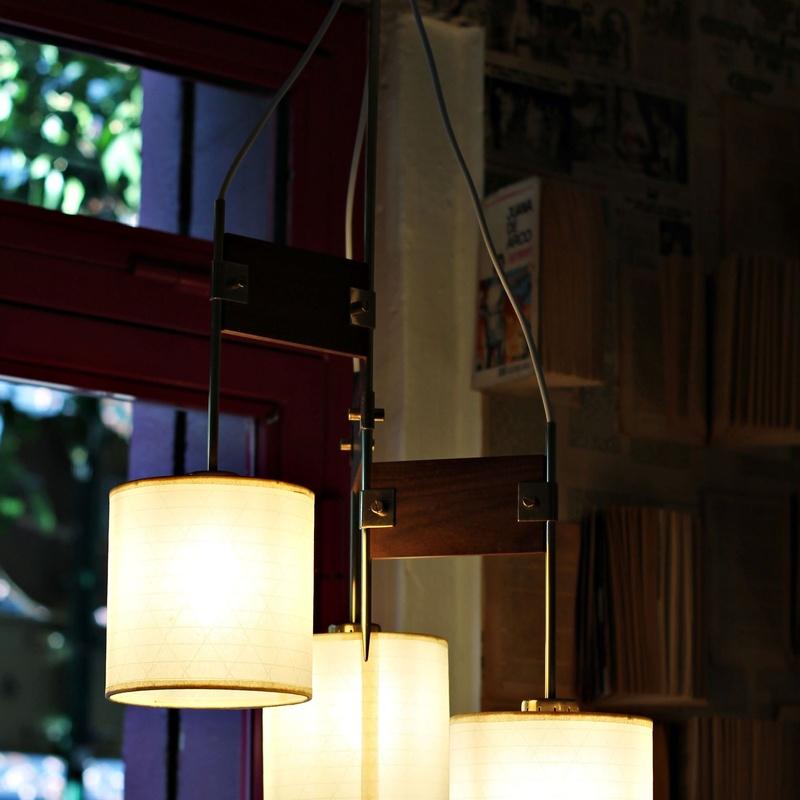 Lámpara nórdica años 50 REF:376:  de Ruzafa Vintage