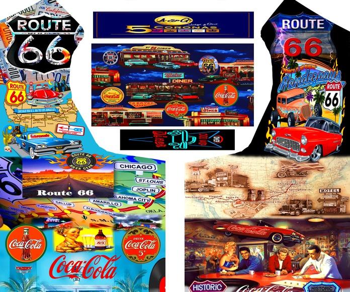 Vinilos recreativos: Máquinas recreativas de Arcade Retro