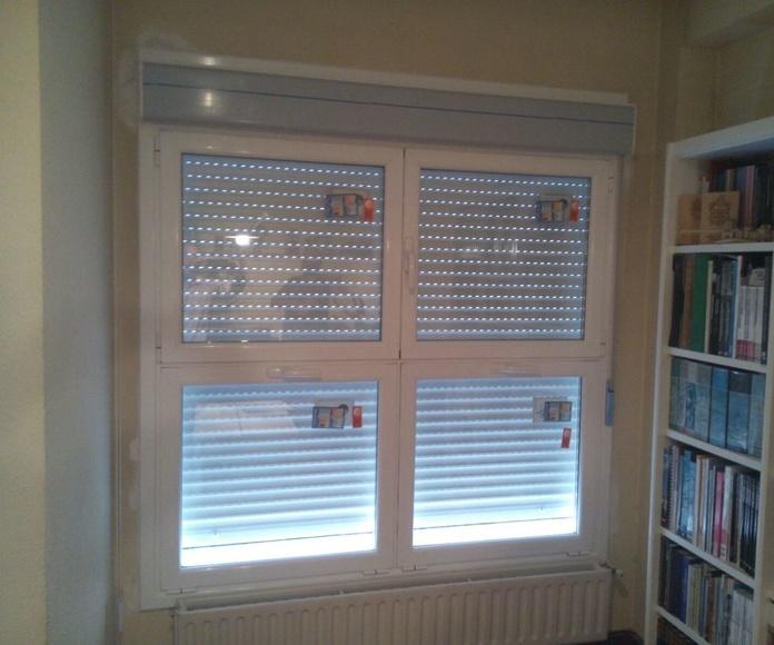 Puertas y ventanas: Servicios de Zurgal Aluminios, S.L.