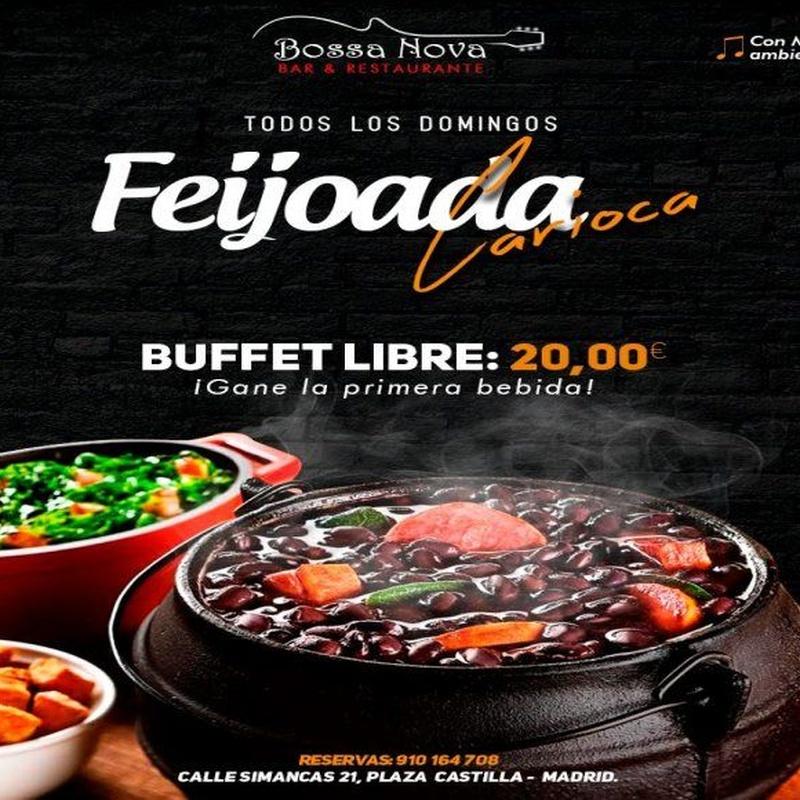 Feijoada carioca: Catálogo de Bossa Nova Restaurante