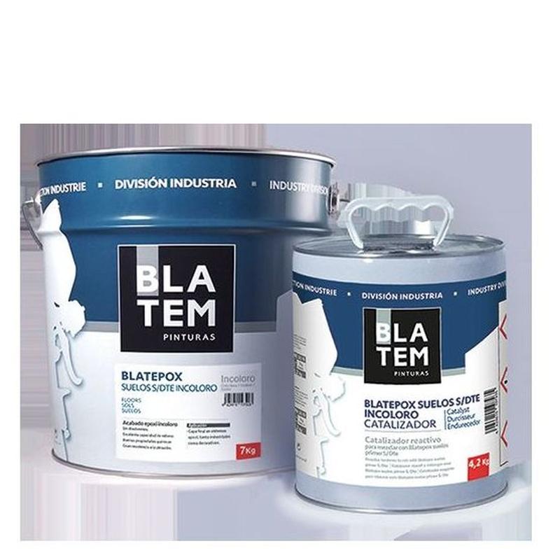 Blatepox suelos S/Dte Incoloro en almacén de pinturas en ciudad lineal.