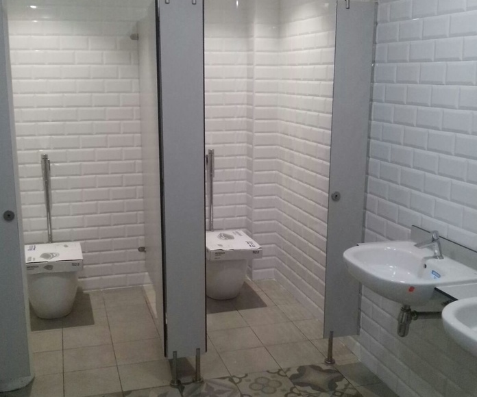 Reforma de los baños del Mercado de la Boquería en Barcelona