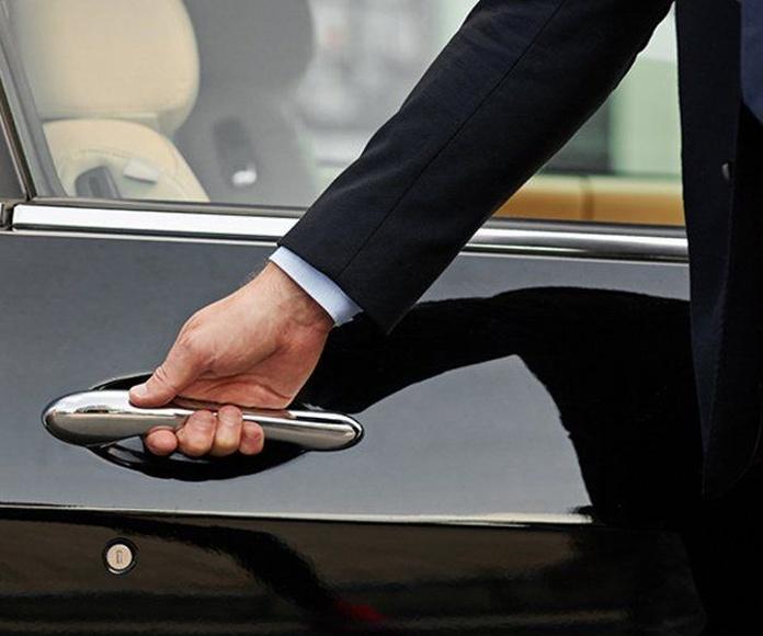 Disposiciones: Servicios de Abaser Limousine Service