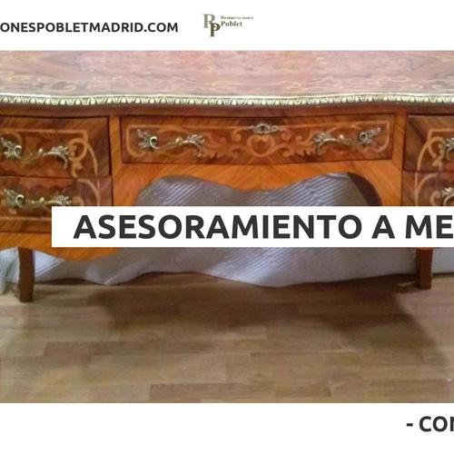Curso de restauración de muebles en Chamberí, Madrid