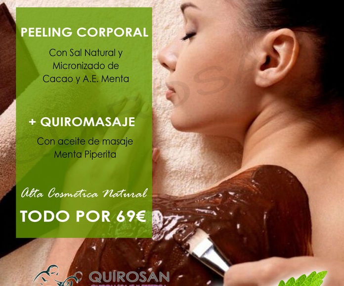 "Rituales SPA ""AROMS NATUR"": Servicios de Quirosan"