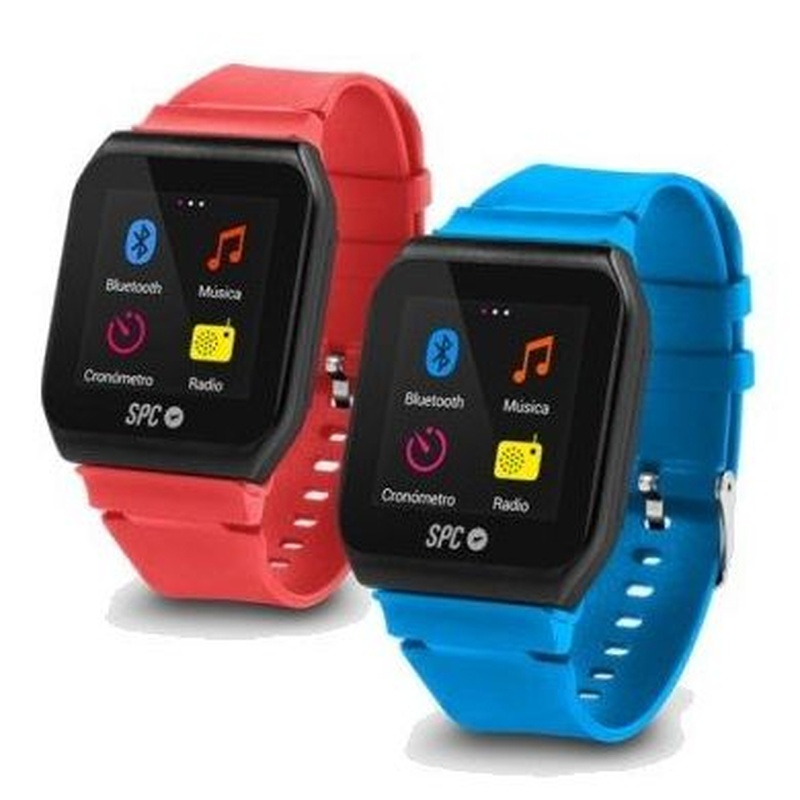SPC 8564AP MP3+Radio Sport Watch Bluetooth Azul/Ro : Productos y Servicios de Stylepc