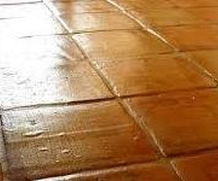 Tratamientos de barro para suelos