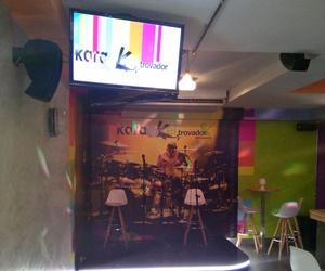 Interior de nuestro karaoke en Salamanca