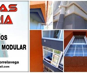 Revestimientos contínuos para fachadas en Santander.