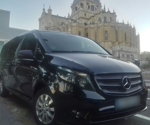 Car rental with driver in south Madrid