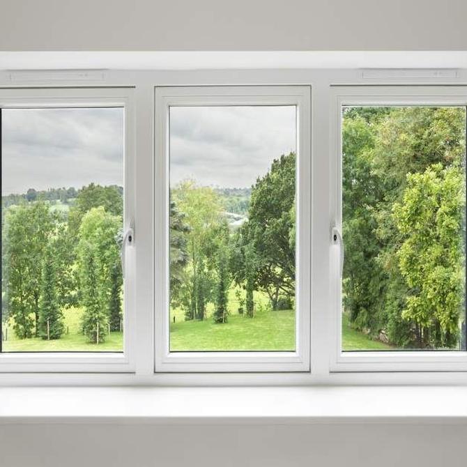 El mantenimiento de las ventanas de aluminio