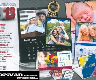 Materiales: Catálogo de Copistería Copivan