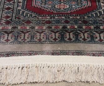 Ribetes y festones: Reparación de alfombras de Taller de Alfombras